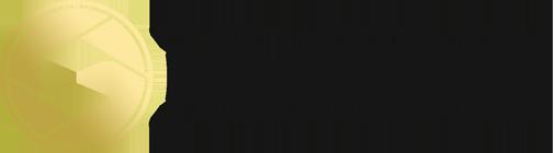 Logo mit schwarzen Schriftzug
